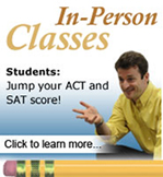 ACT Test Prep In-person Classes
