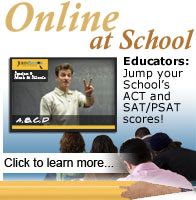 ACT Test Prep Online at School